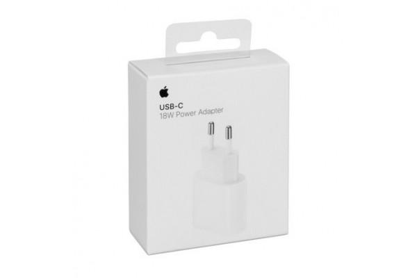 CHARGEUR SECTEUR 18W A1692 ORIGINE APPLE - USB-C POWER ADAPTATER  -  BLISTER