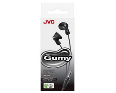 JVC Ecouteurs funs et colorés GUMY NOIR