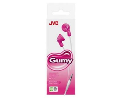 JVC Ecouteurs funs et colorés GUMY ROSE